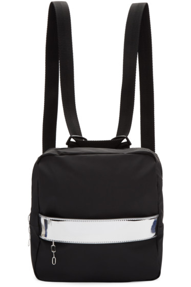 MM6 Maison Margiela - Black Rubber Backpack
