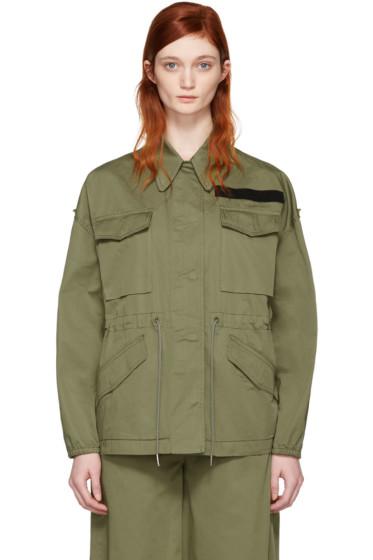 MM6 Maison Margiela - Khaki Short Jacket