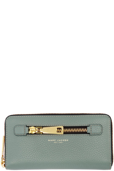 Marc Jacobs - Blue Gotham Continental Wallet