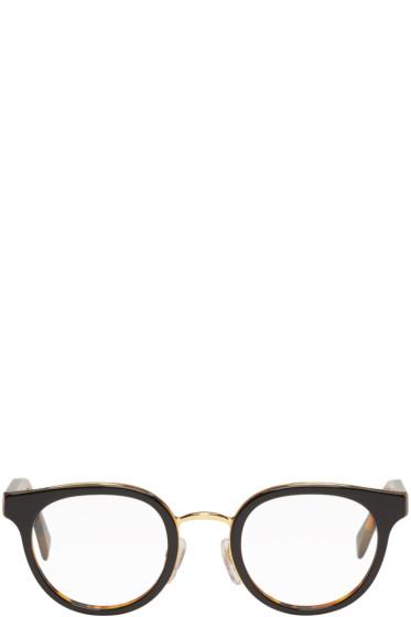 Super - Black & Tortoiseshell Numero 22 Glasses