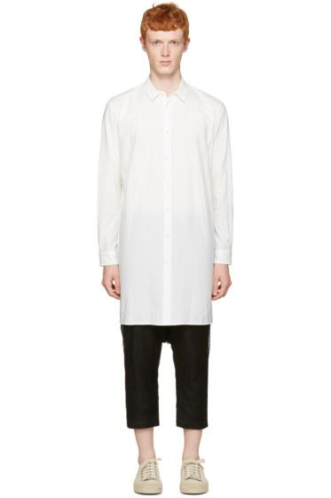 Robert Geller - White Long Shirt