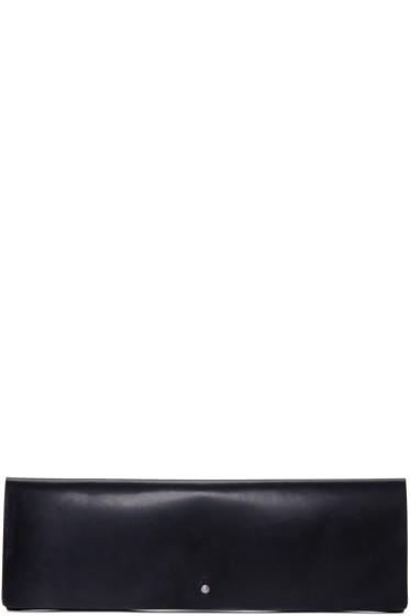 Rick Owens - Black Large Flat Wallet