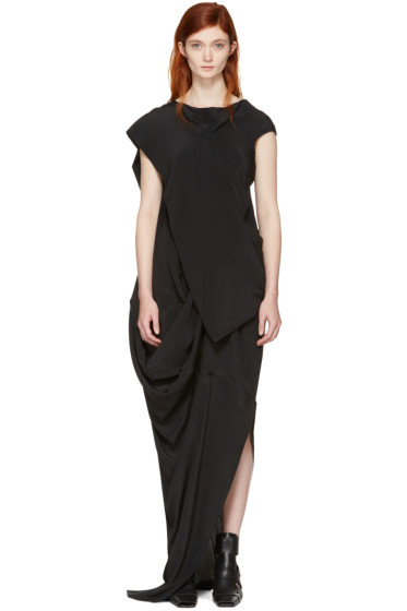 Rick Owens - Black Egret Dress