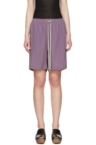 Rick Owens - Purple Boxer Shorts