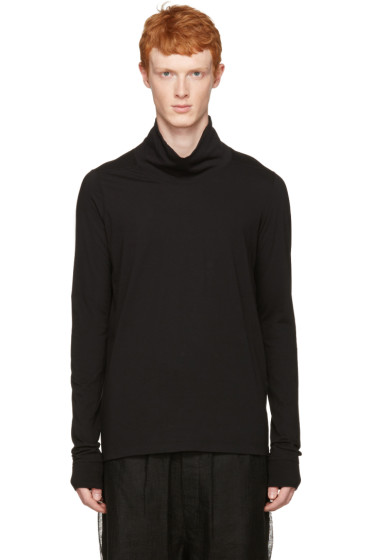 Rick Owens - Black Walrus Turtleneck