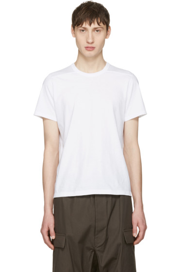 Rick Owens - White Short Level T-Shirt