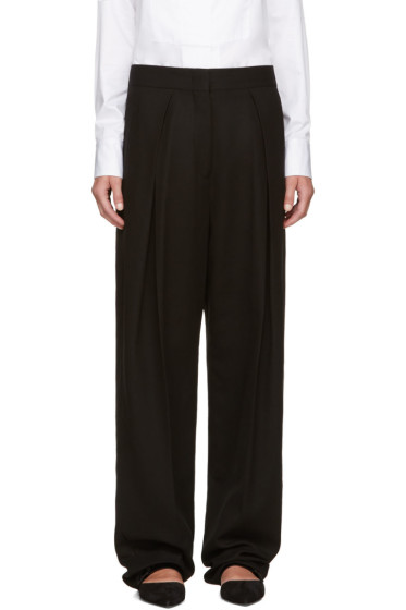 Jil Sander - Black Pleated Trousers