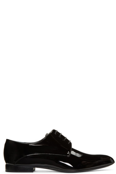 Jil Sander - Black Pointed Toe Derbys