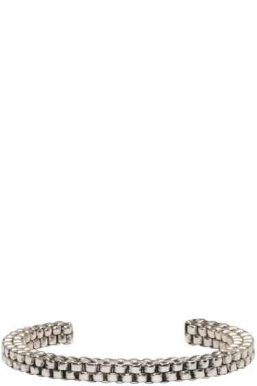 Balmain - Silver Scoubidou Bracelet