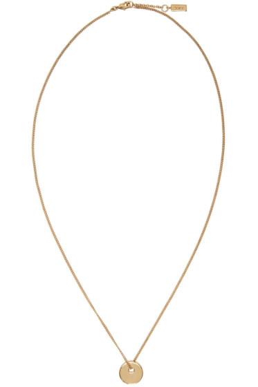 A.P.C. - Gold Serge Necklace