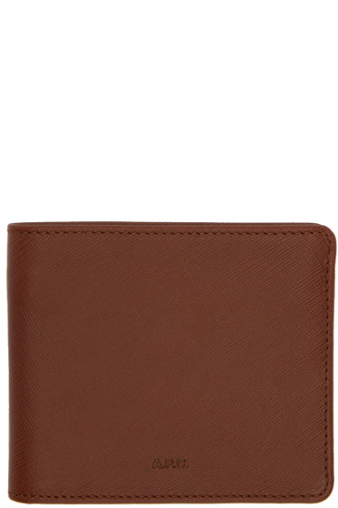 A.P.C. - Brown Aly Wallet