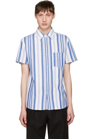 A.P.C. - Blue Bryan Shirt