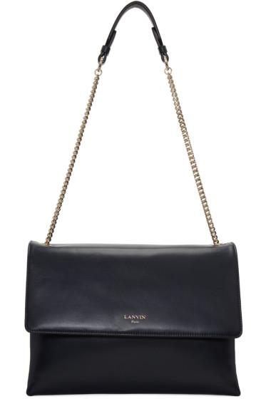 Lanvin - Navy Medium Sugar Bag