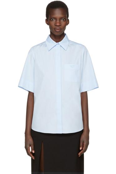 Lanvin - Blue Logo Shirt