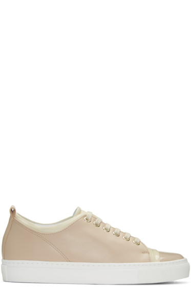 Lanvin - Pink Colorblocked Sneakers