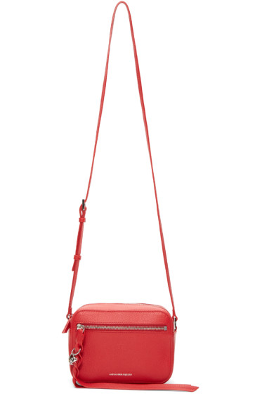 Alexander McQueen - Red Small Camera Bag