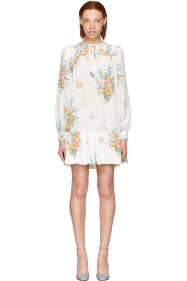 Alexander McQueen - White Floral Dress