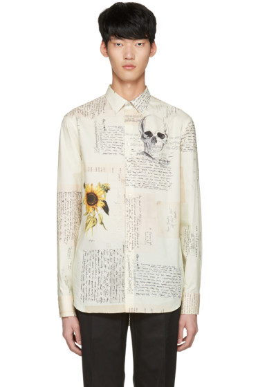 Alexander McQueen - Off-White 'Letters From India' Shirt