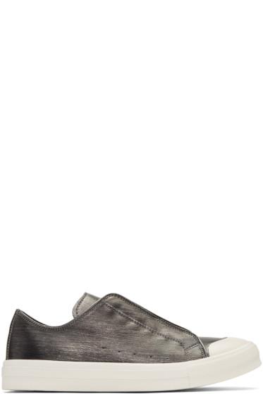 Alexander McQueen - Silver Low Cut Sneakers
