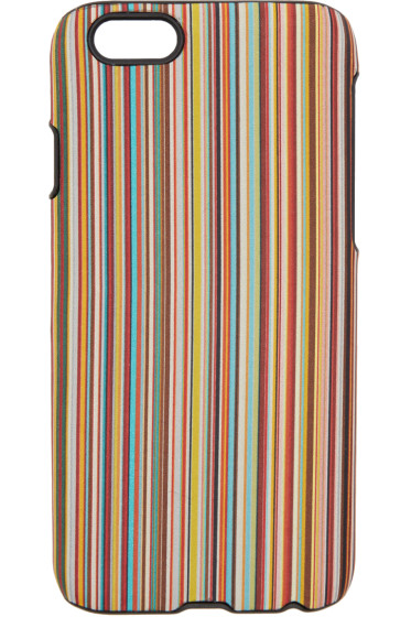 Paul Smith - Multicolor Classic Stripes iPhone 6 Case