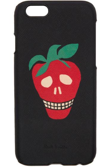 Paul Smith - Black Strawberry Skull iPhone 6 Case
