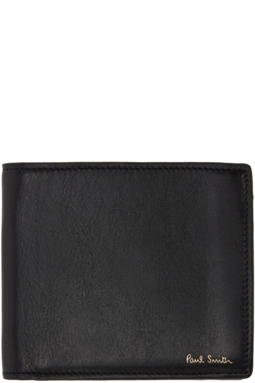 Paul Smith - Black Leather Wallet