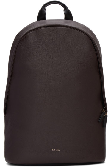 Paul Smith - Brown Leather Backpack