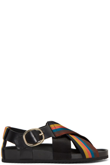Paul Smith - Multicolor Light Striped Ray Sandals