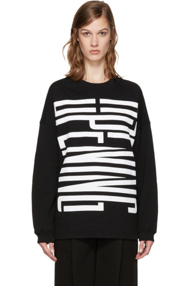 Opening Ceremony - Black Cozy Stretch Sweatshirt