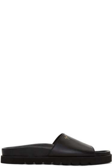 Giuseppe Zanotti - Black Rinko Sandals