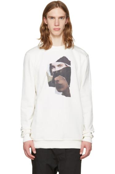 Damir Doma - White Taitt Face Pullover