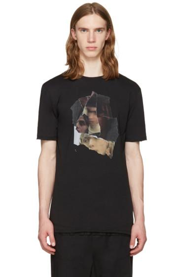 Damir Doma - Black Tsetis Face T-Shirt