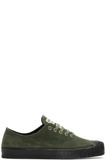 Comme des Garçons Shirt - Green Spalwart Edition Special V Sneakers