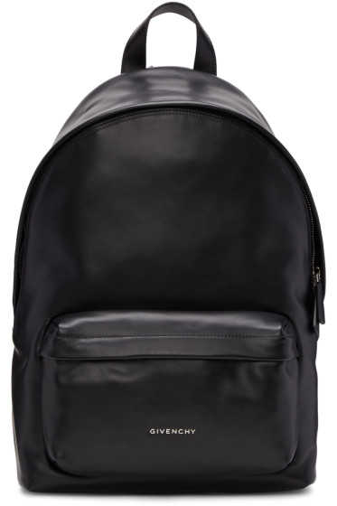 Givenchy - Black Small Leather Backpack