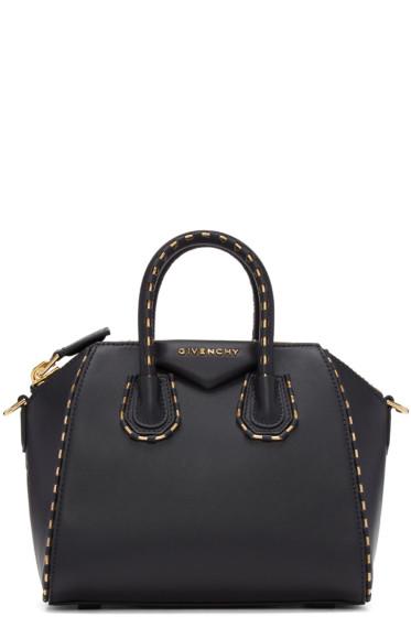 Givenchy - Black Mini Chain Antigona Bag