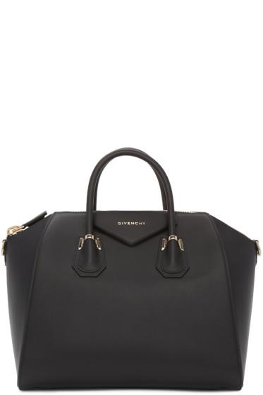 Givenchy - Black Medium Piercing Antigona Bag
