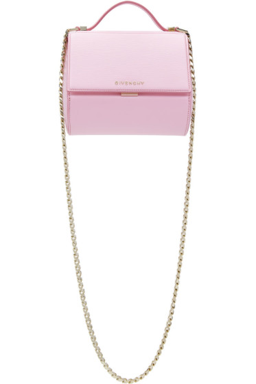 Givenchy - Pink Mini Chain Pandora Box Bag