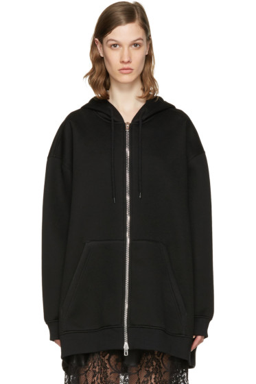 Givenchy - Black Oversized Logo Hoodie