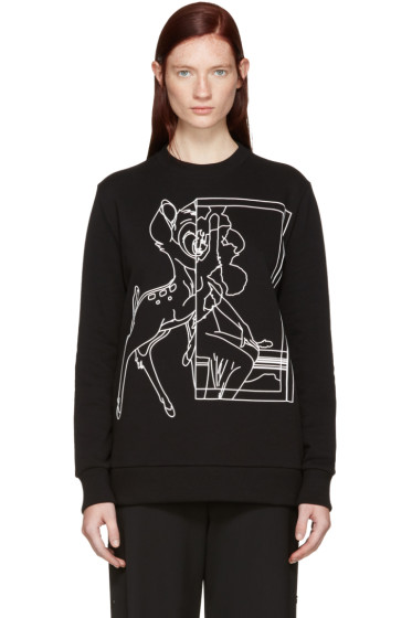 Givenchy - Black Bambi Sweatshirt