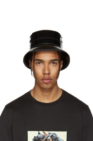 Givenchy - Black Shiny Bucket Hat