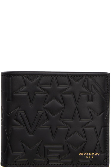 Givenchy - Black Logo-Embossed Wallet