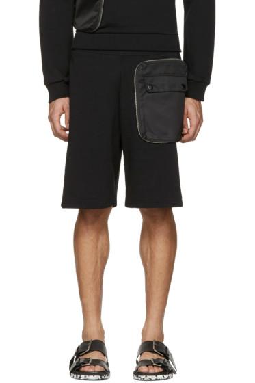 Givenchy - Black Detachable Pocket Shorts