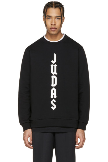 Givenchy - Black 'Judas' Sweatshirt