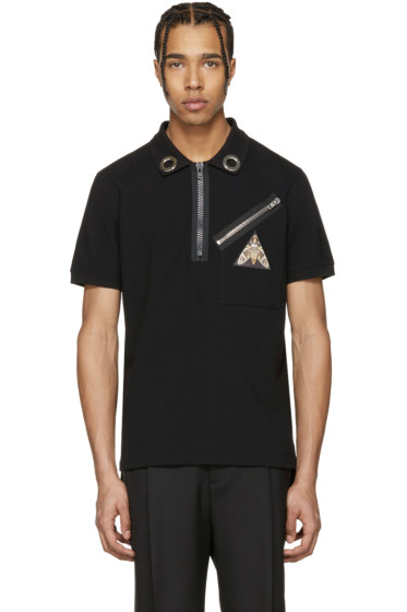 Givenchy - Black Pyramid Eye Polo