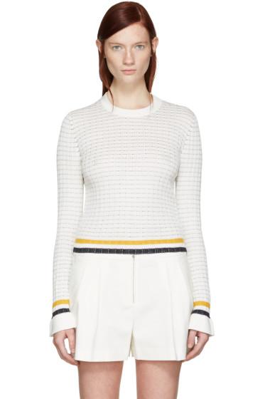 3.1 Phillip Lim - White Knit Pullover