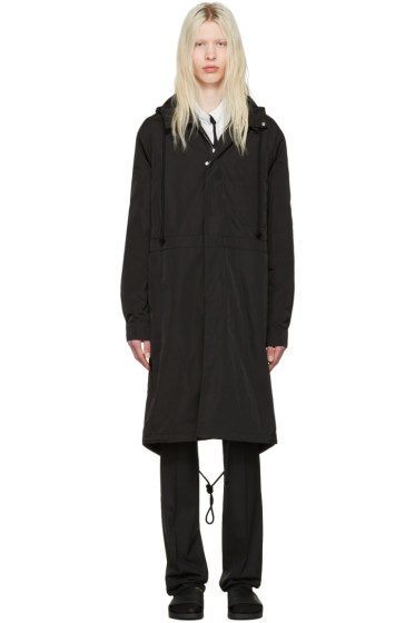 Raf Simons - Black Robert Mapplethorpe Edition Workwear Calla Lily Parka