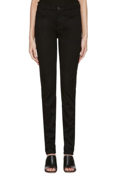 Proenza Schouler - Black High Waist Skinny Jeans