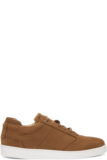 Want Les Essentiels - Brown Nubuck Lennon Sneakers