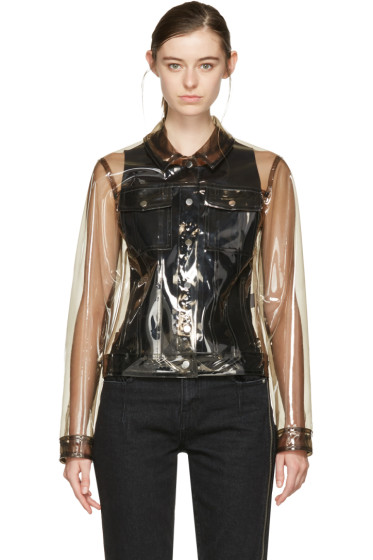 Carven - Transparent Vinyl Jacket