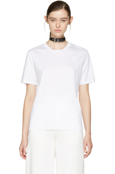 Carven - White Choker T-Shirt